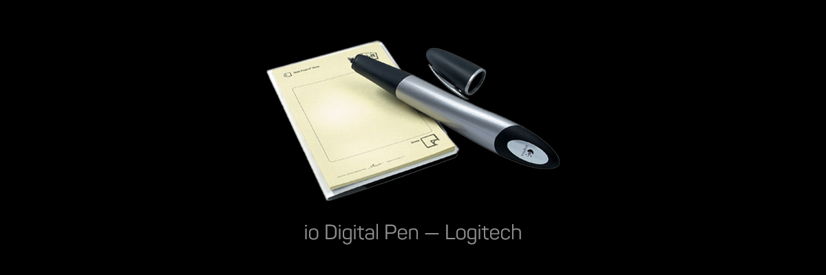 io Digital Pen, Logitech