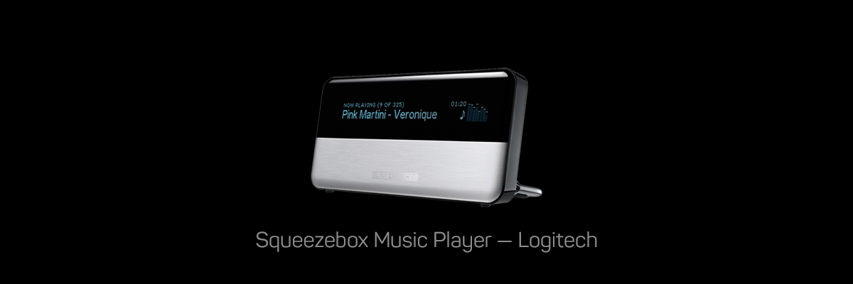 Squeezebox Music Player, Logitech