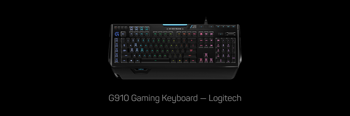 G910 Gaming Keyboard, Logitech